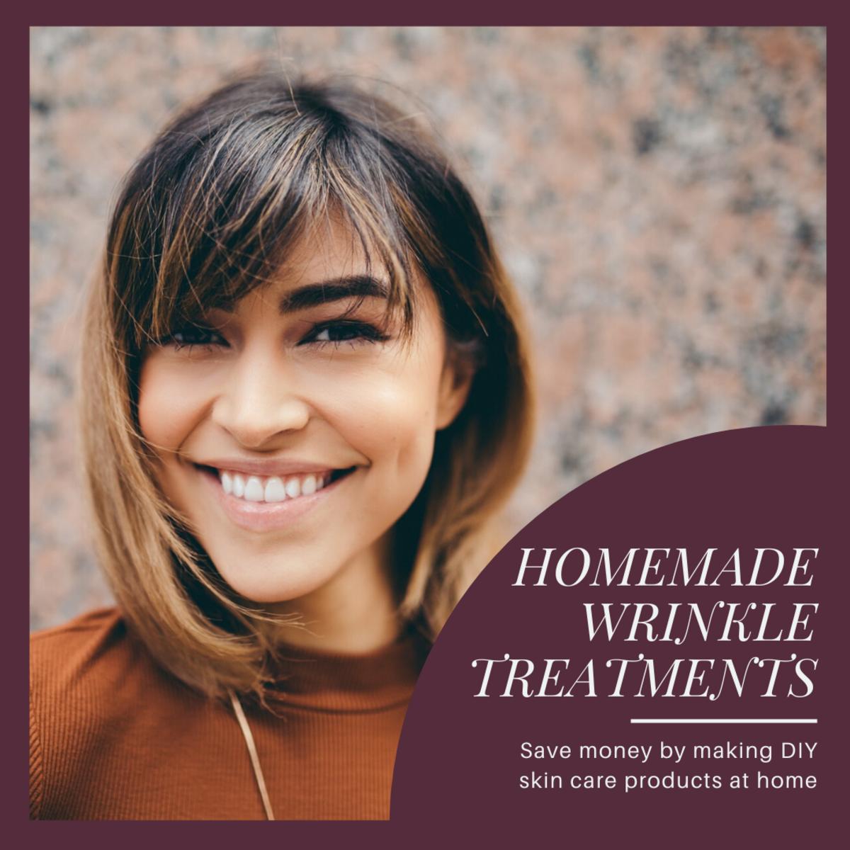 How to Create Homemade Wrinkle Treatments