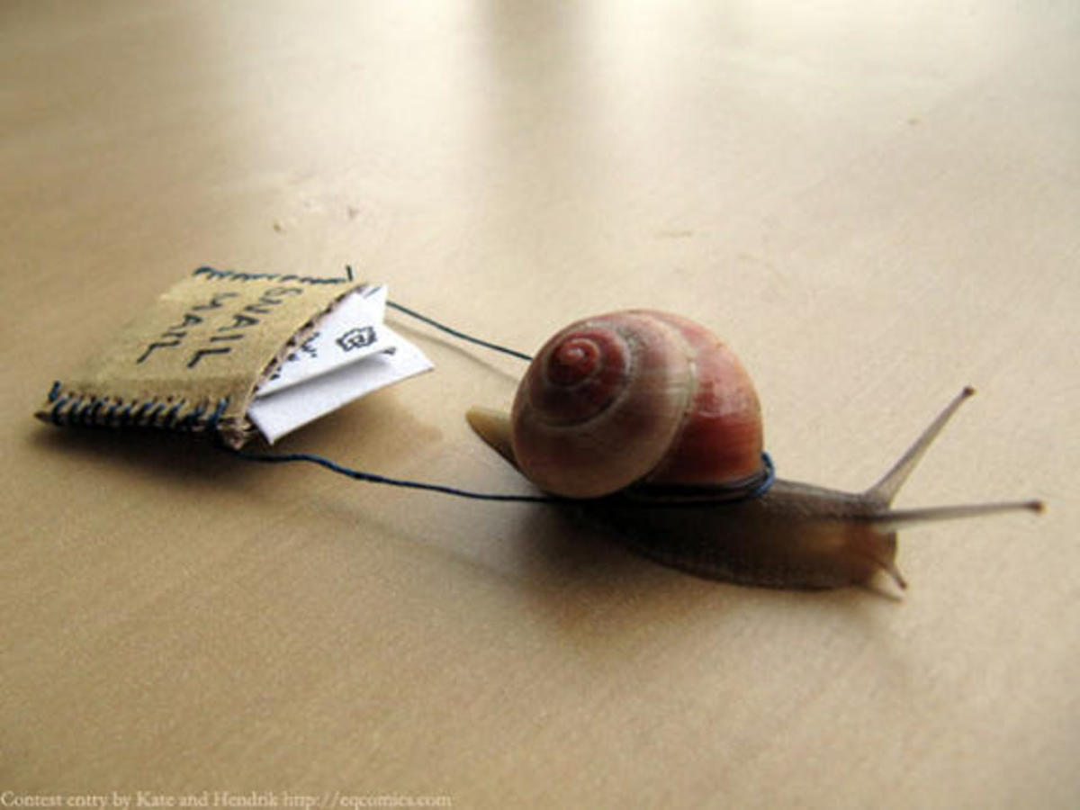 Send snail mail!
