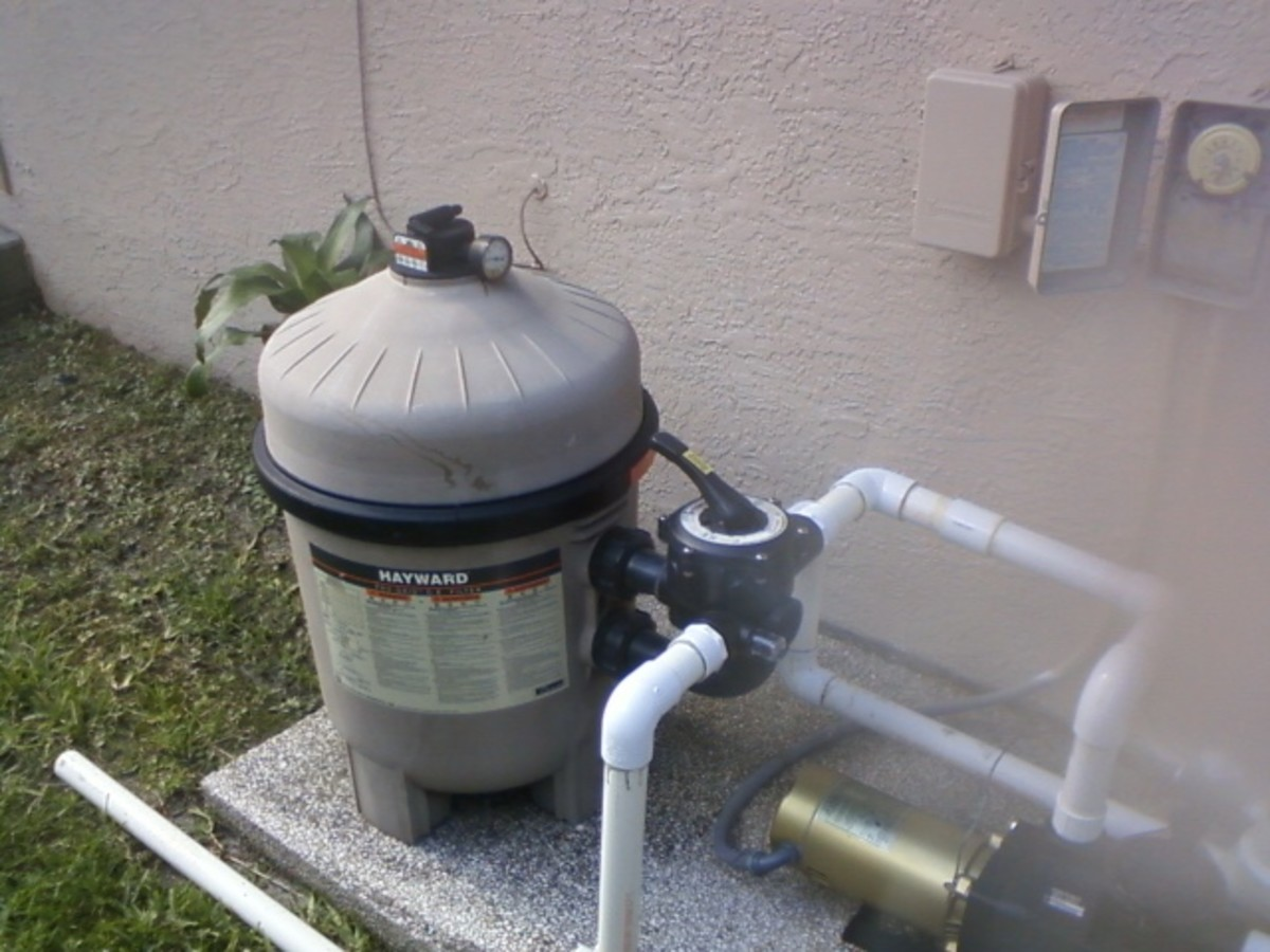 How to Clean and Repair DE Pool Filter Grids