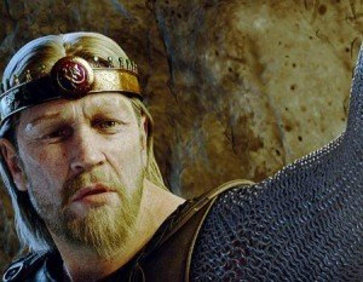 The hero Beowulf