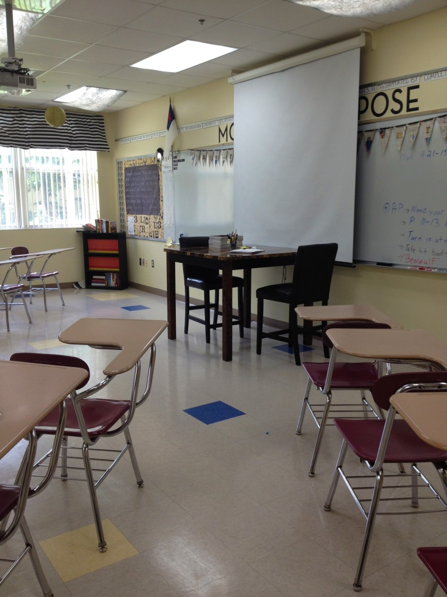 Neutral Classroom Decor ~ The top color schemes for a school classroom owlcation