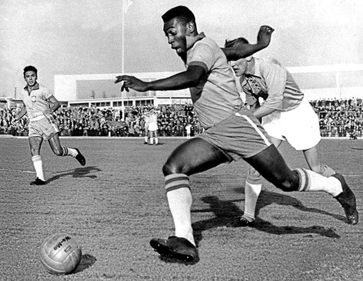 Many argue that Pelé was the greatest footballer of all time.