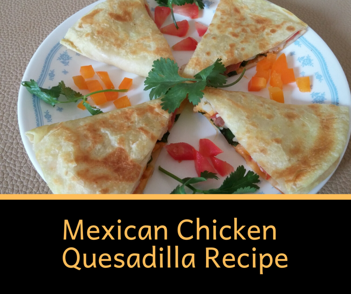 This chicken quesadilla recipe is good for the whole family.