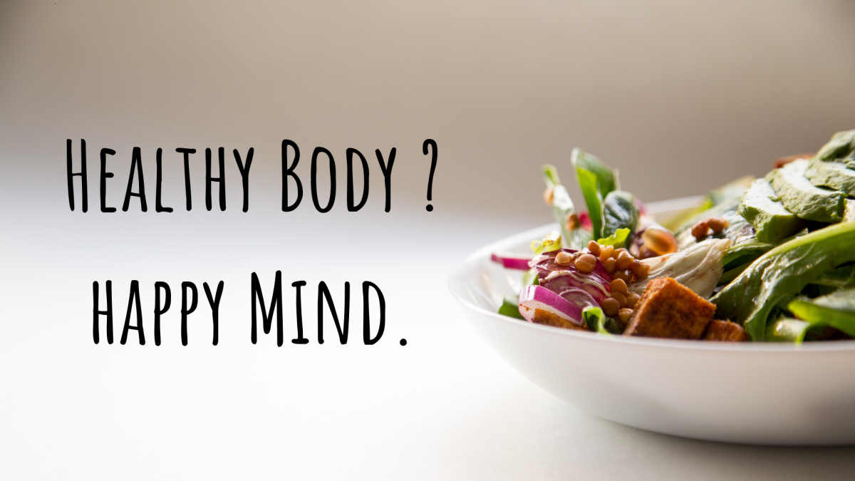 Foods that improve your overall health and are good for your body can also help elevate your mind!