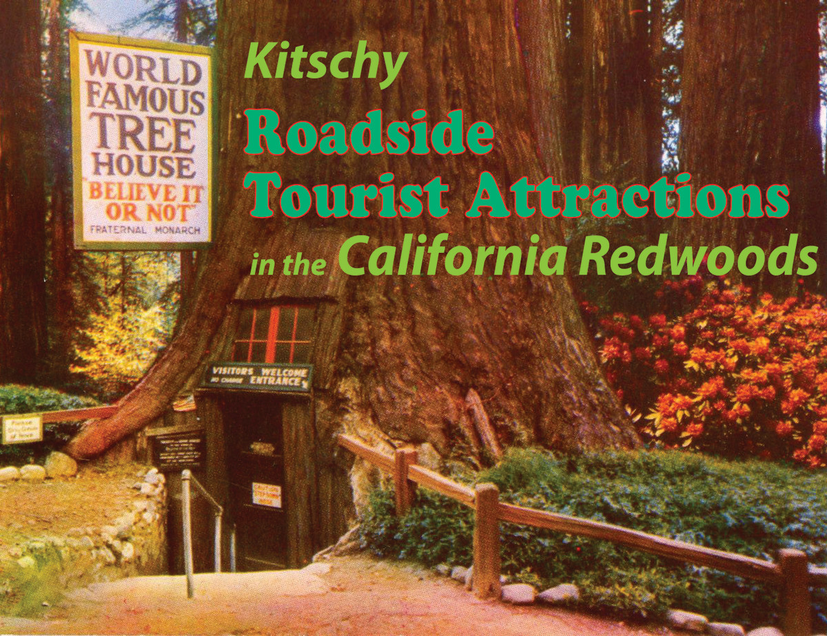 Kitschy Roadside Tourist Attractions in the California Redwoods