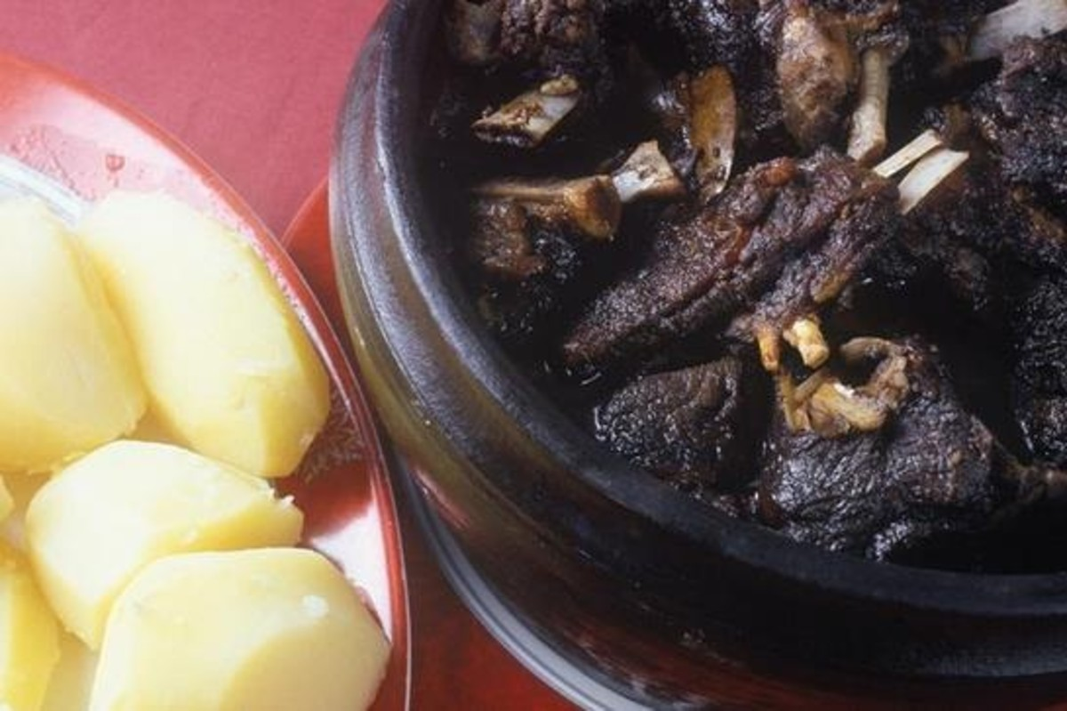 How to Cook Chanfana or Portuguese Goat Roast/Stew
