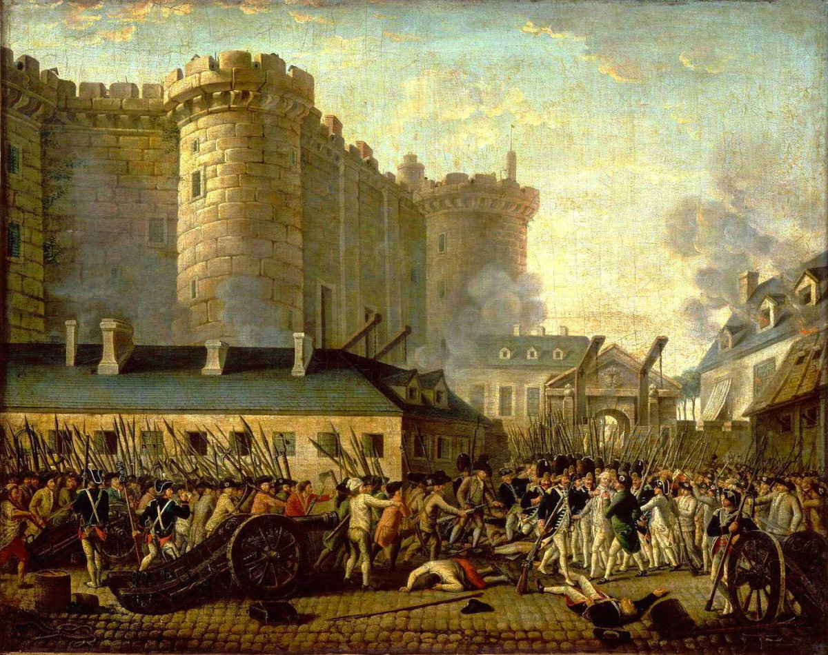 """In the same year that the American Republic began, the French Revolution started. Should these two revolutions, American and French, be acclaimed as """"similar""""?"""