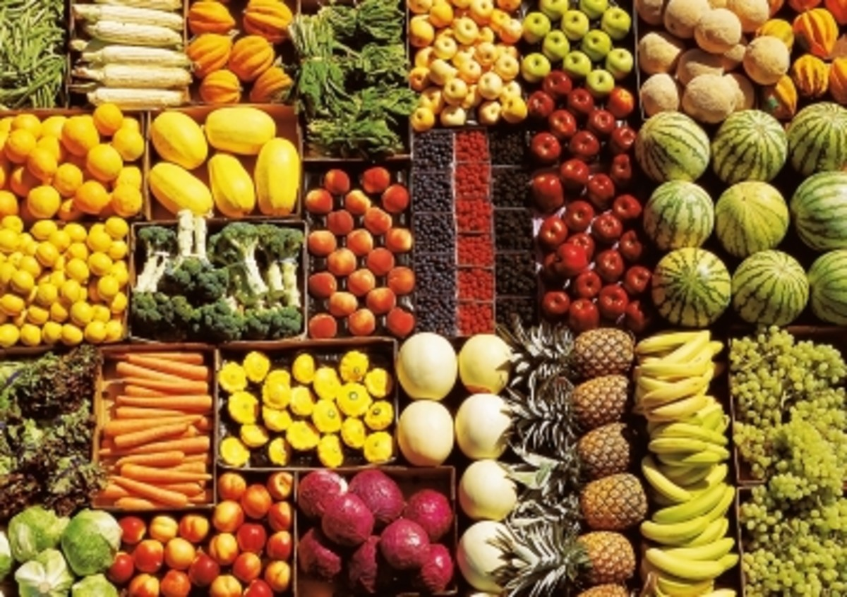 a large selection of alkalizing foods for every taste