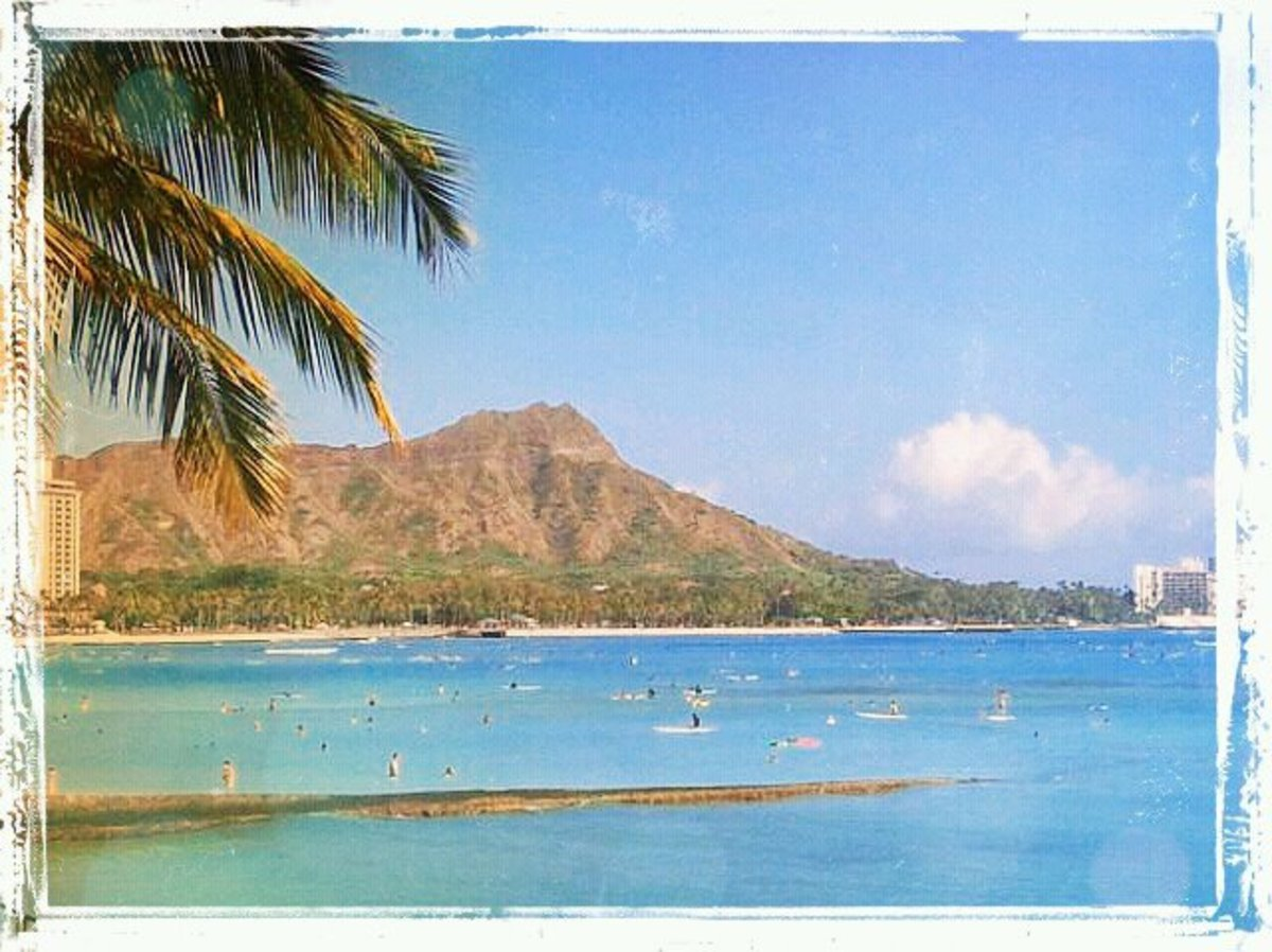 Magical Hawaiian summer day - truly picture perfect!