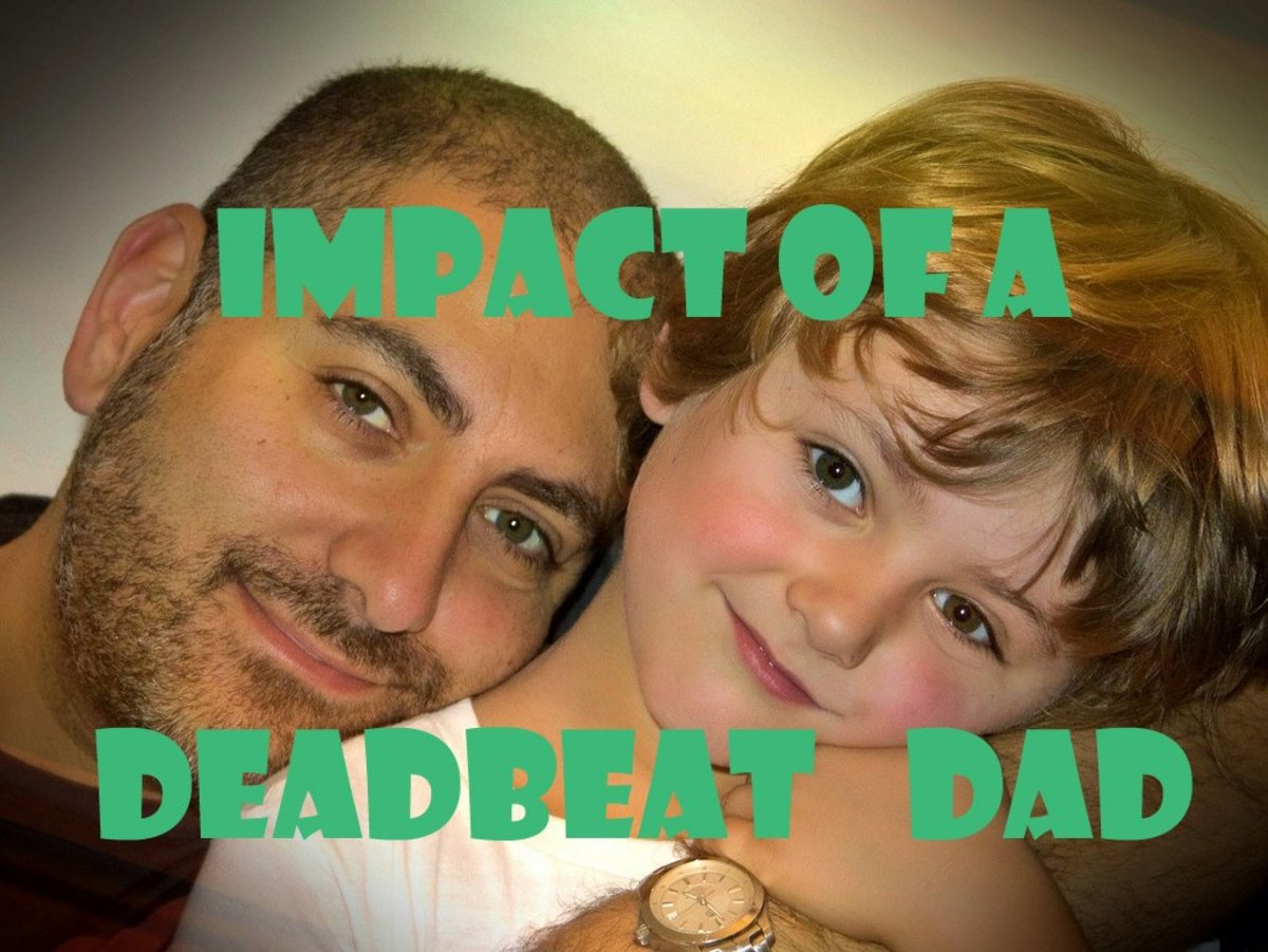 Effects of Deadbeat Dads in a Child's Life
