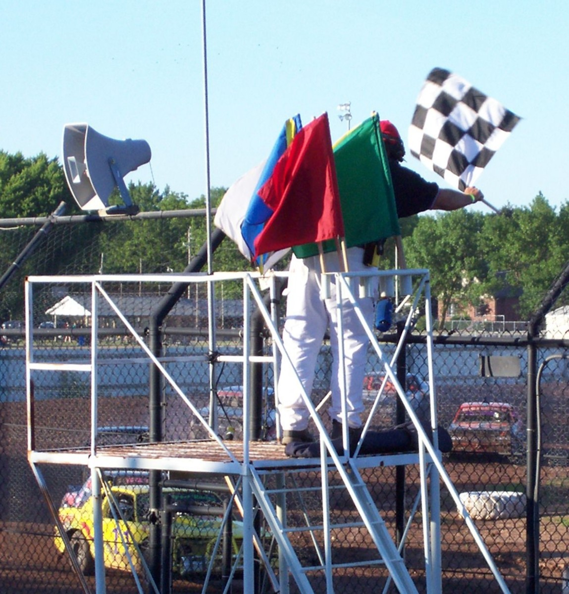 Auto Racing Flags: What Do the Colors Mean?