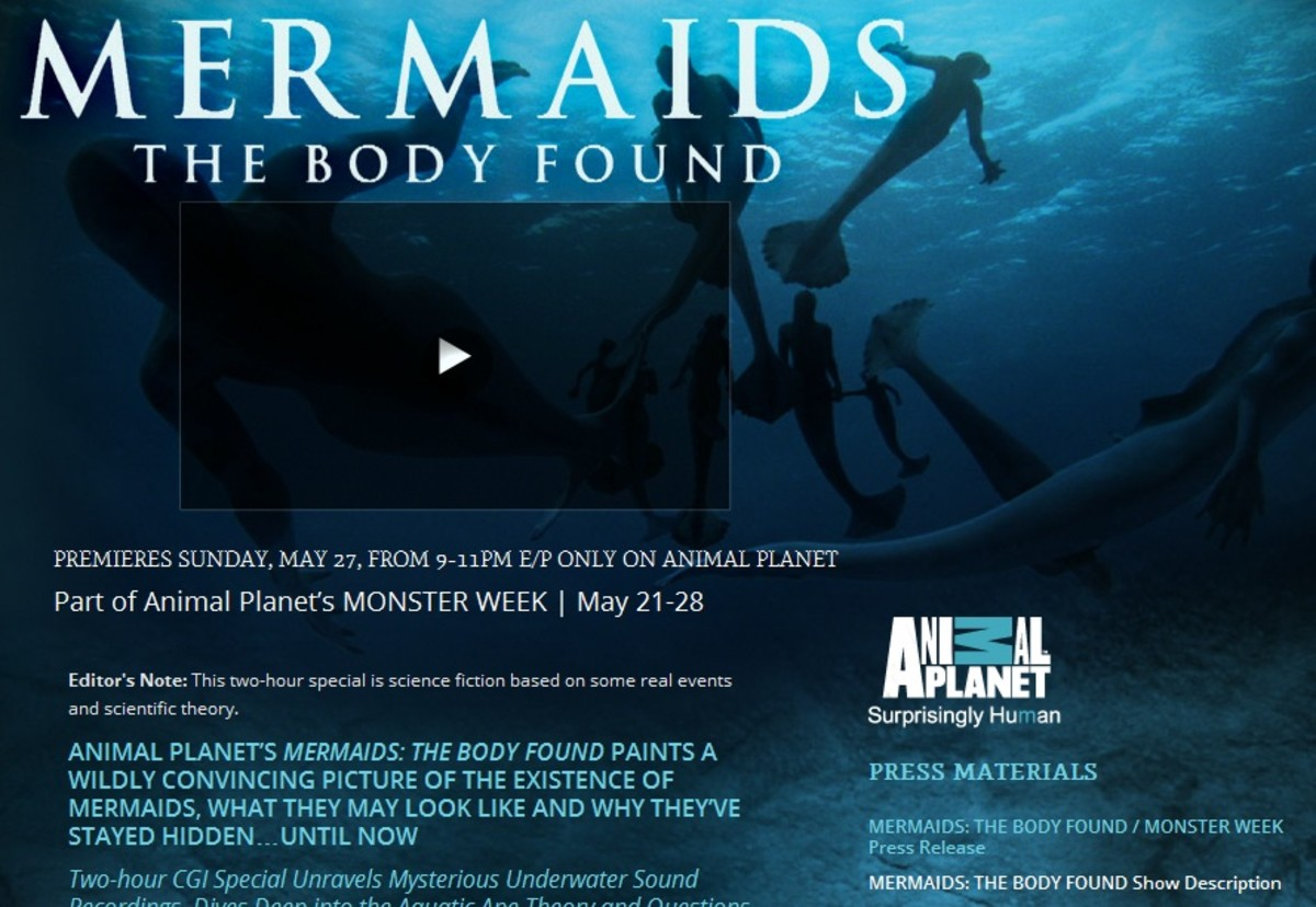 The Animal Planet Mermaid Hoax