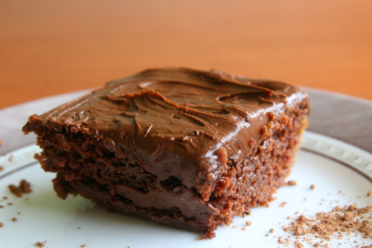Wacky Cake: A Dairy Free Cake Recipe