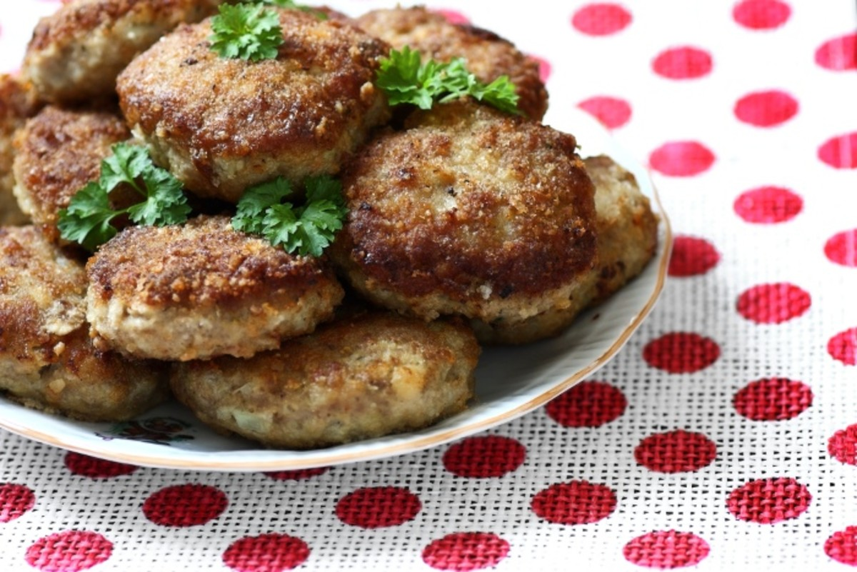 Recipe for How to Make Minced Meat Cutlets