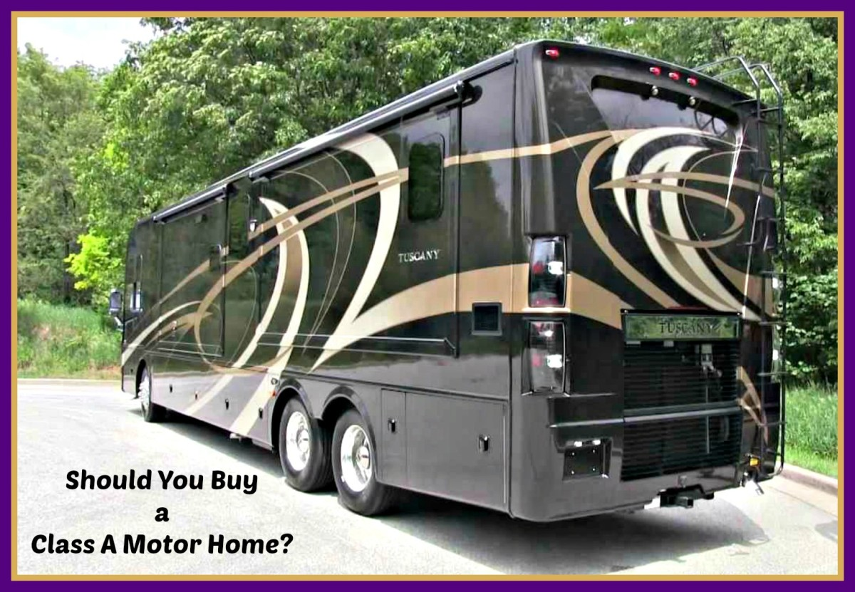 Class A Motorhomes can be wonderful to own, but they also have many problems.