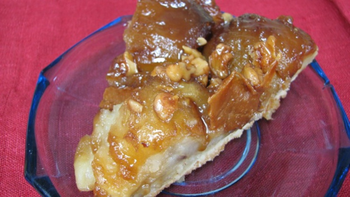 Toffee apple cake - incredibly sweet!