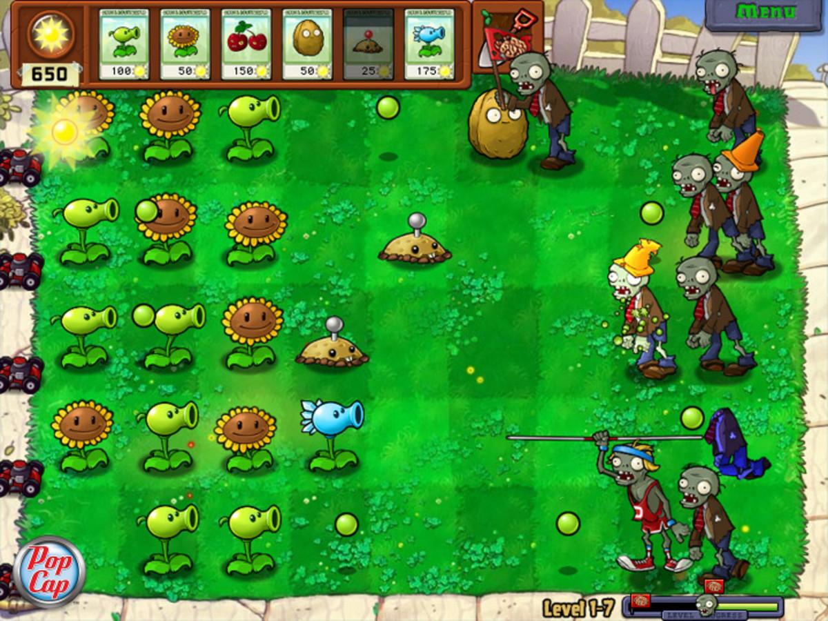 Free Games Like Plants vs Zombies