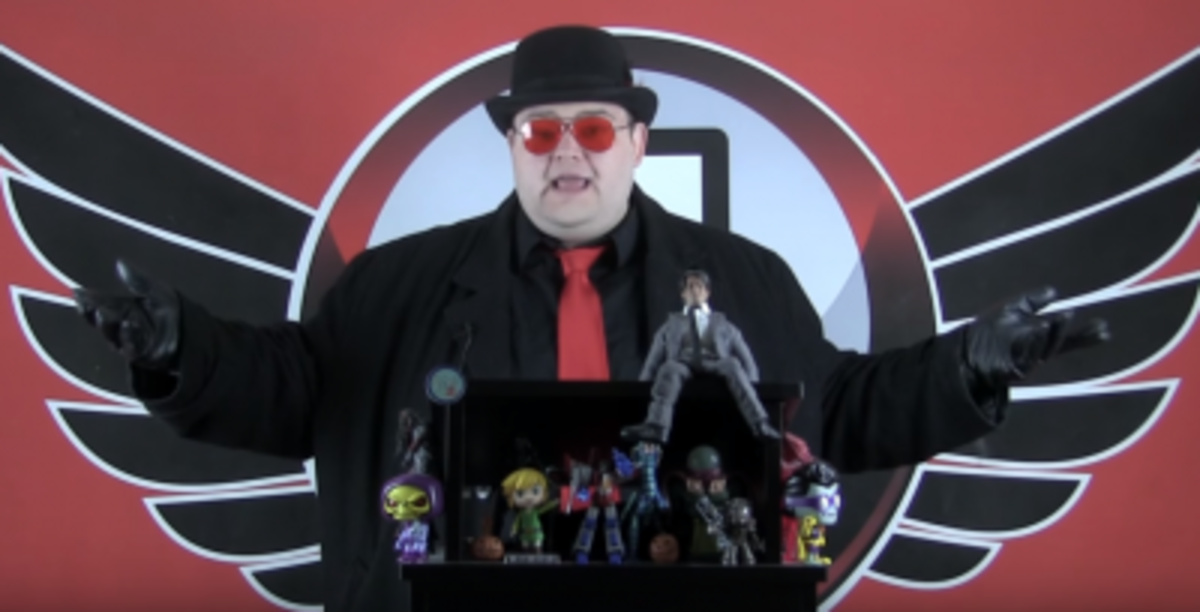 YouTuber Jim Sterling publishes text reviews on his website, thejimquisition.com, while he makes video editorials, let's plays, and reaction videos on his YouTube page.