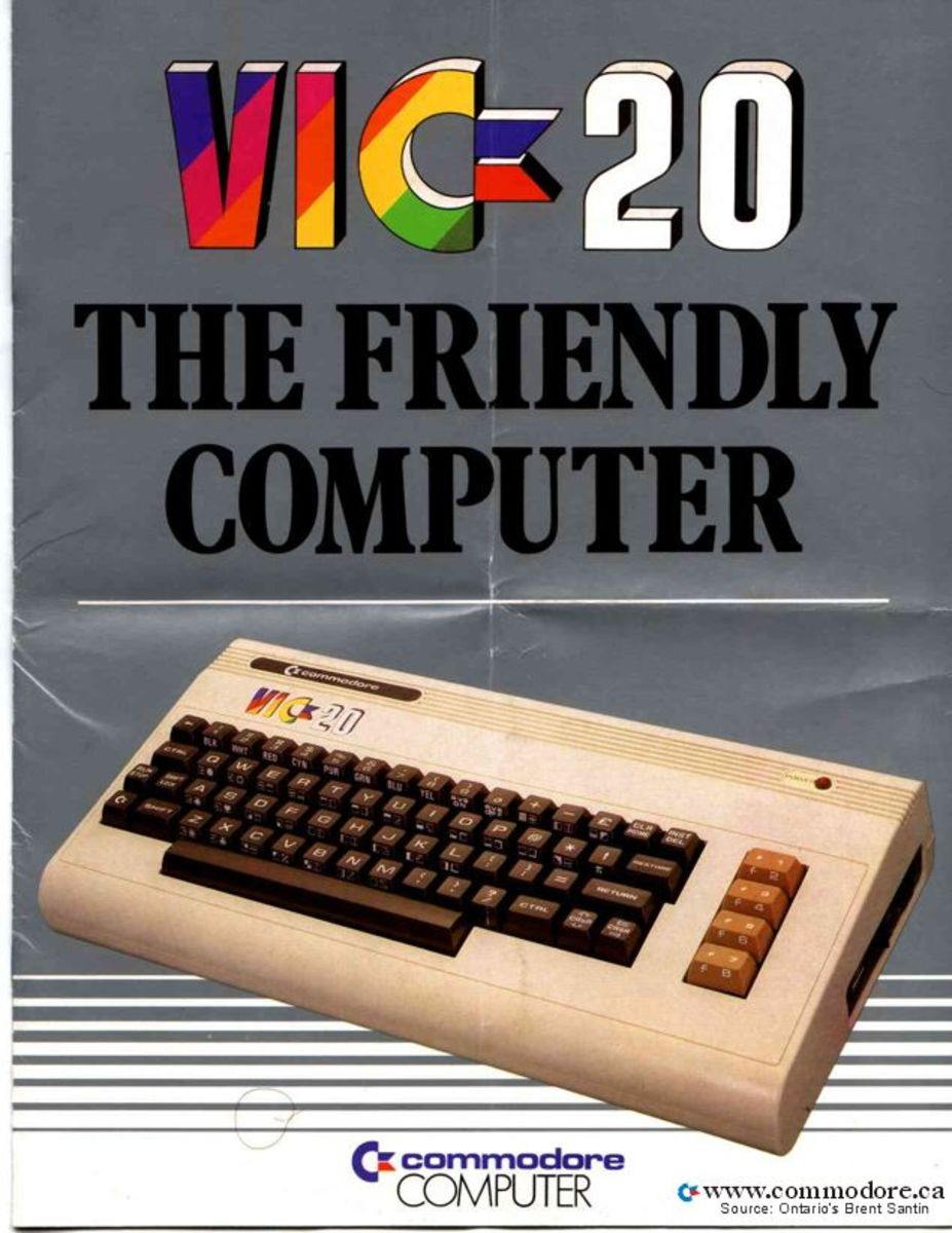 We just can't tell you enough how friendly this machine was... The VIC 20 from Commodore