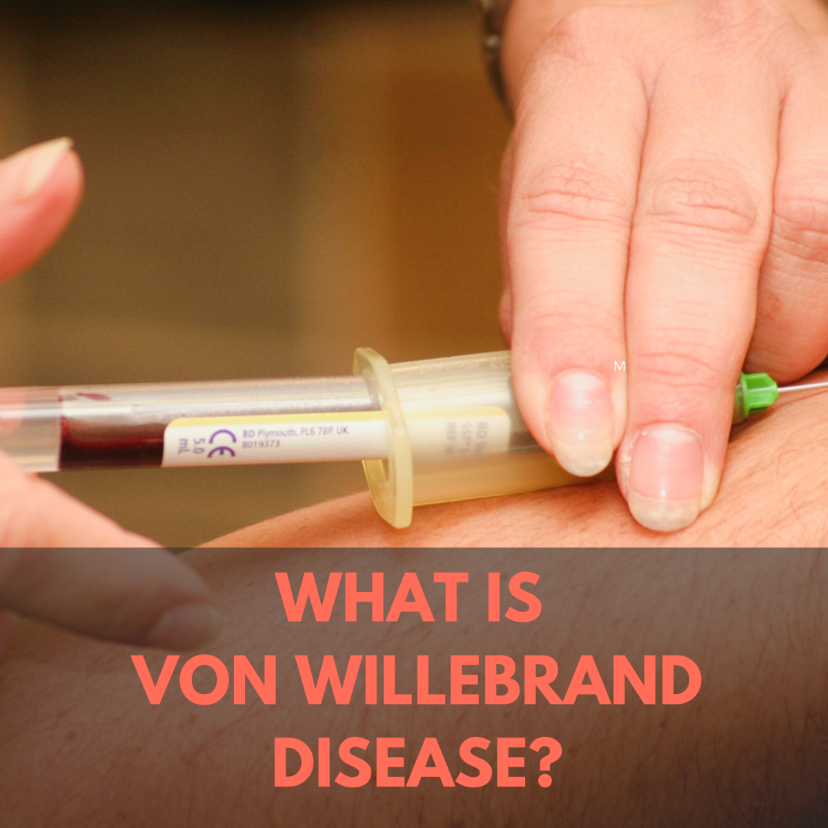 Von Willebrand Disease (VWD) is an inherited or acquired blood disorder that results in frequent and excessive bleeding.