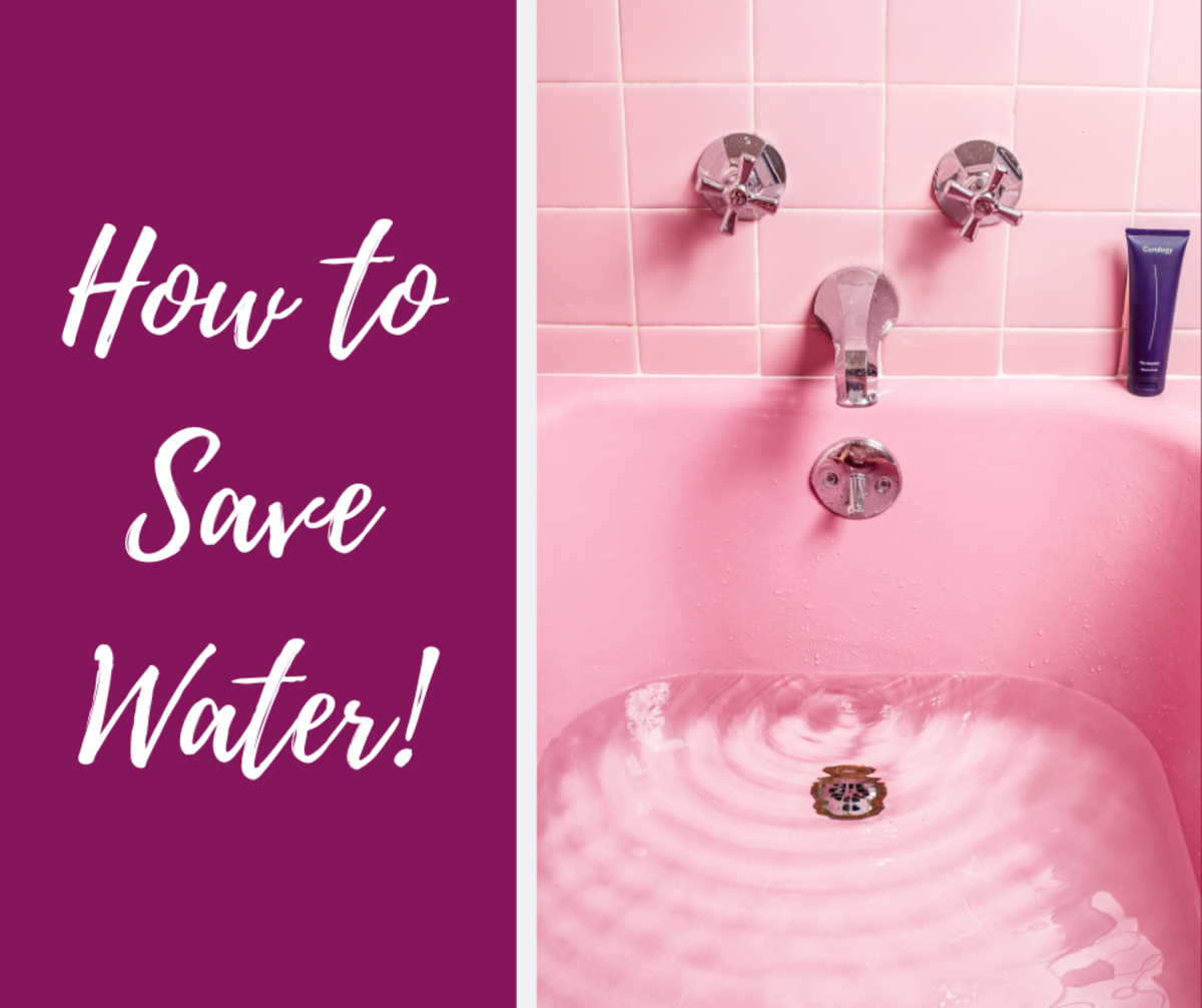 How to Save Water at Home and at Work