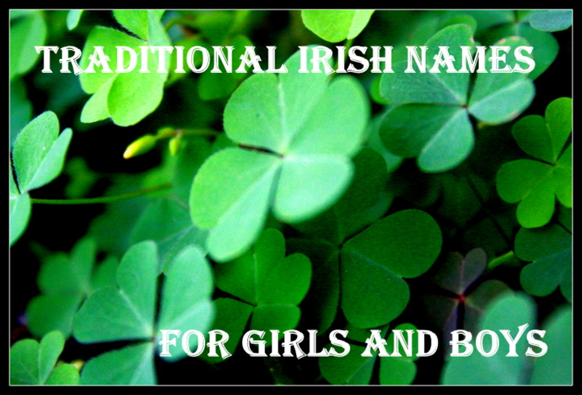 Traditional Irish Baby Names
