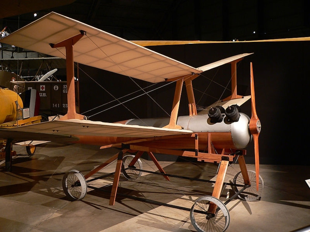 World War 1 History: The Kettering Bug-- World's First Drone