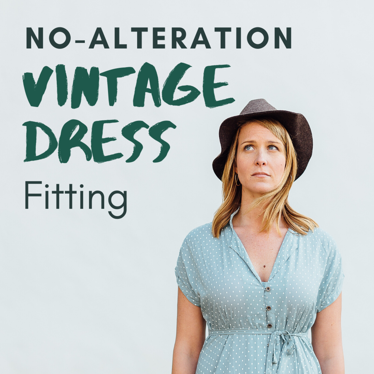 How to Make a Dress Tighter Without Alterations or Sewing
