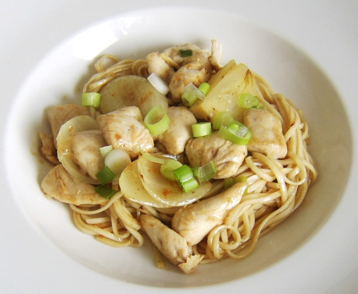 Quick and Easy Chicken Chow Mein Recipe