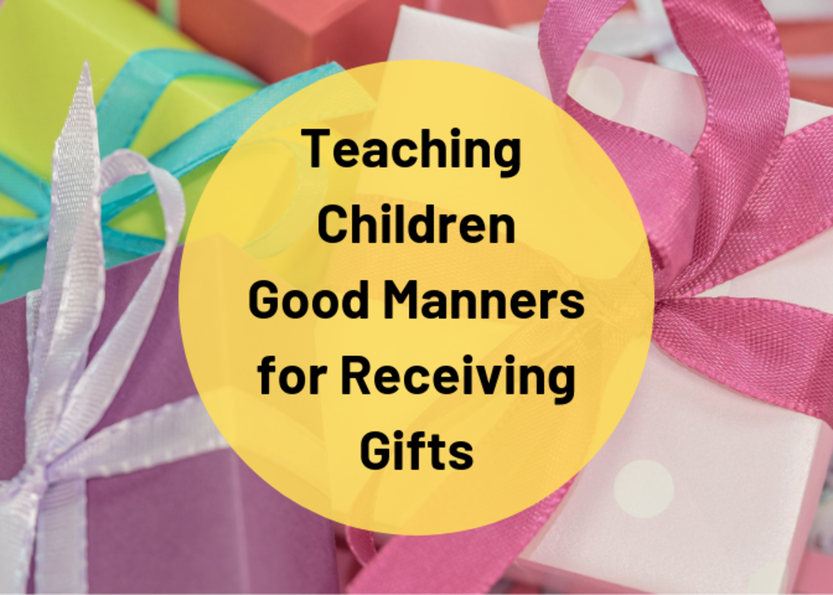 This guide will help prepare your children to practice good etiquette and good manners when they receive gifts.