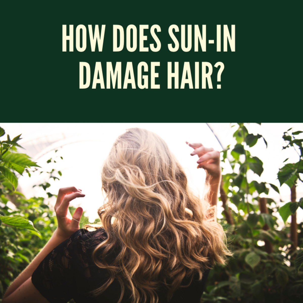 How Does Sun-In Damage Hair: Sun-In Review