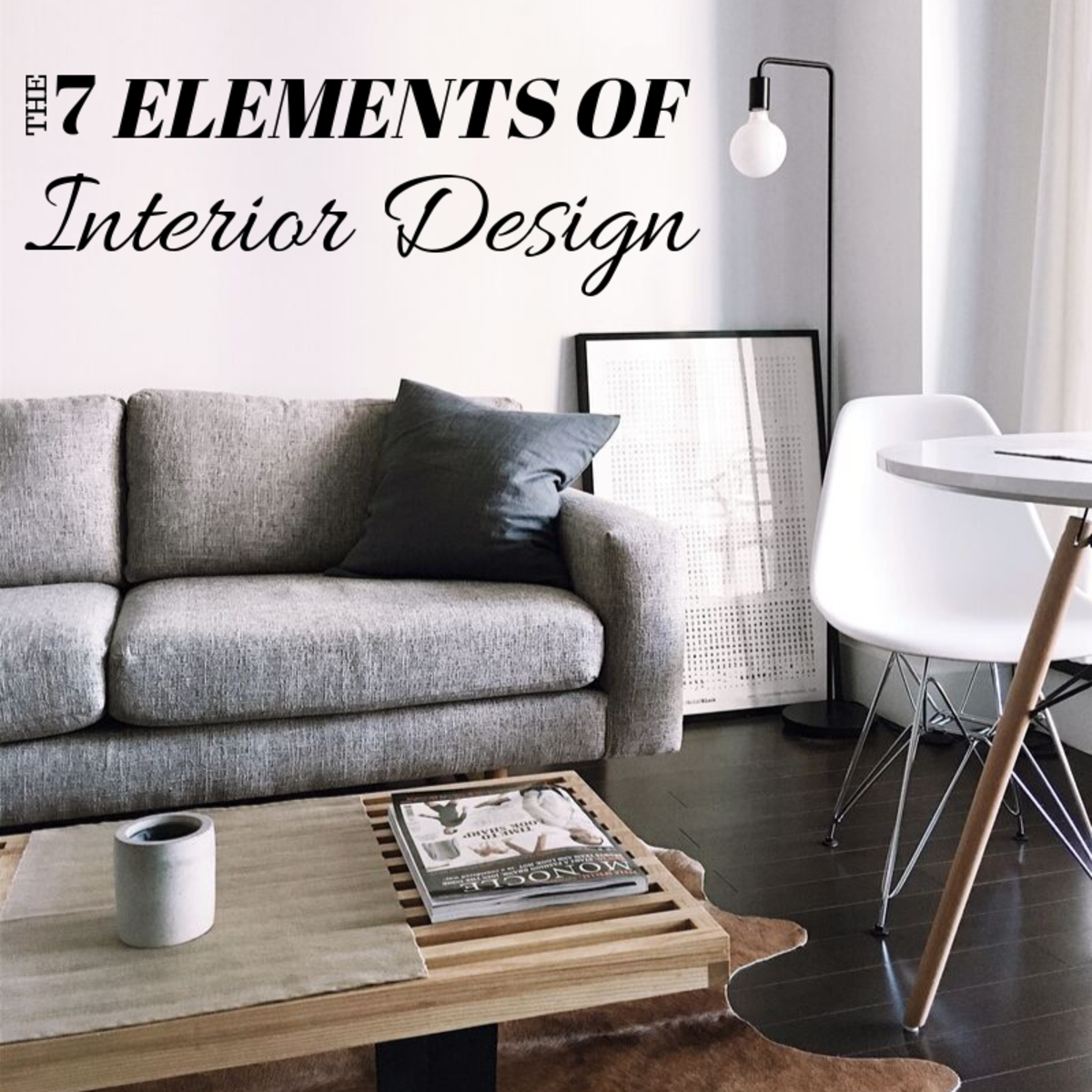 Once you understand the seven elements of interior design, creating a stunning space becomes fun and easy.
