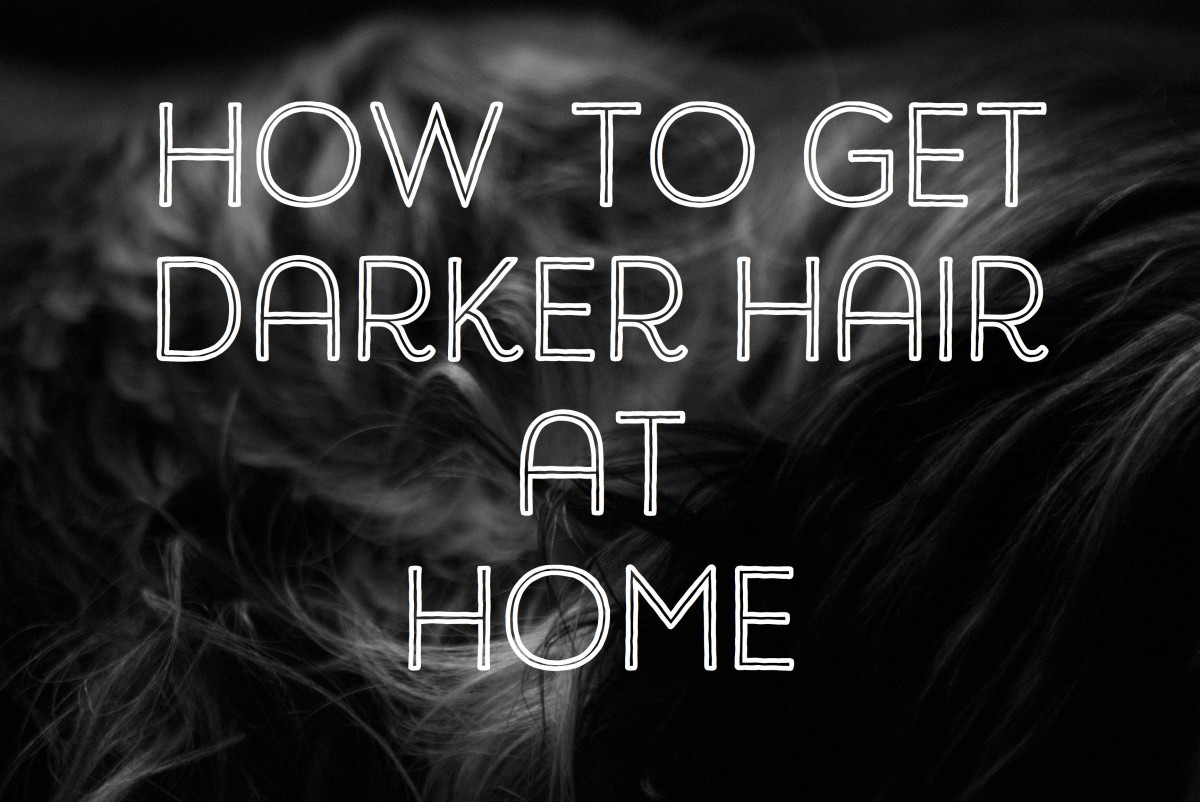 How to Darken Your Hair Color Naturally at Home