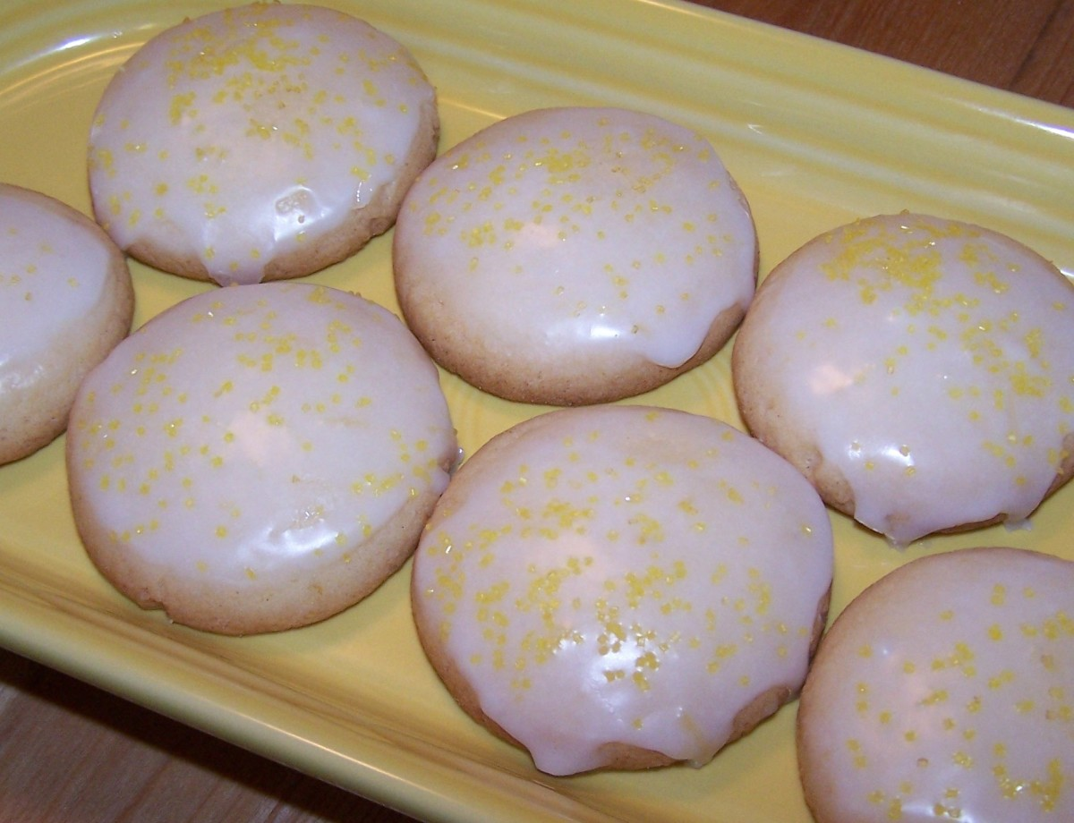Gluten-Free Bisquick Lemon Drop Cookies
