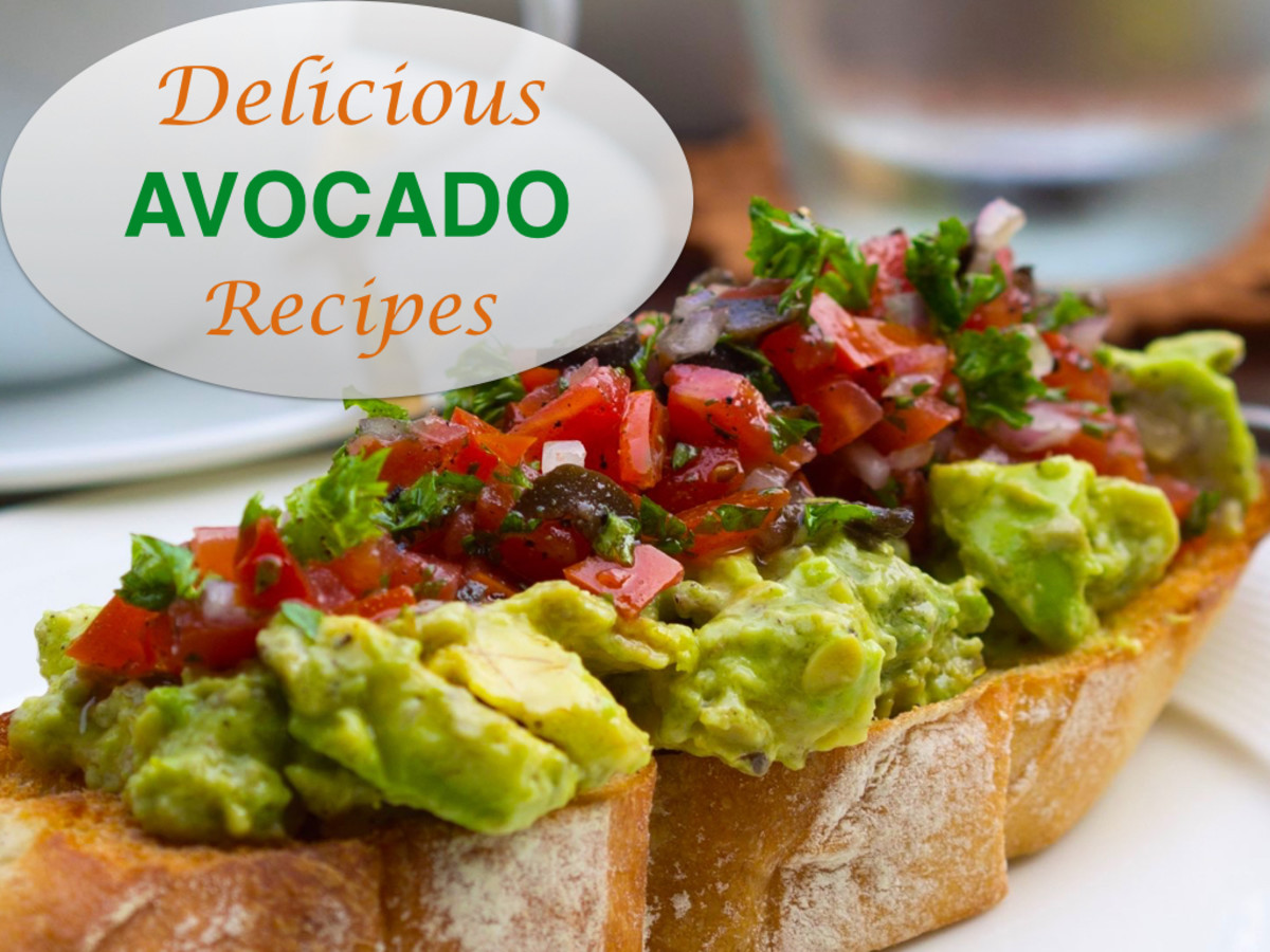 7 Delicious Avocado Recipes: Includes Salads, Dressings, Salsa and Guacamole
