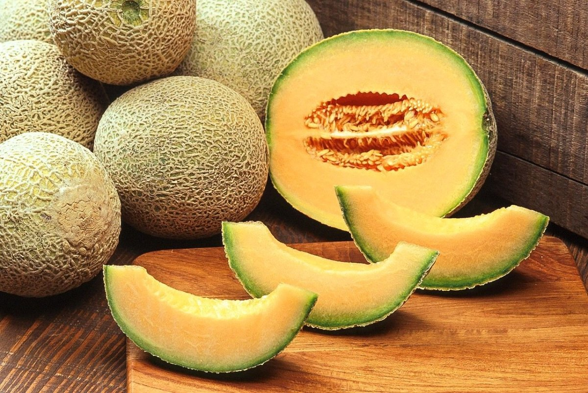 Nutritious and delicious cantaloupes