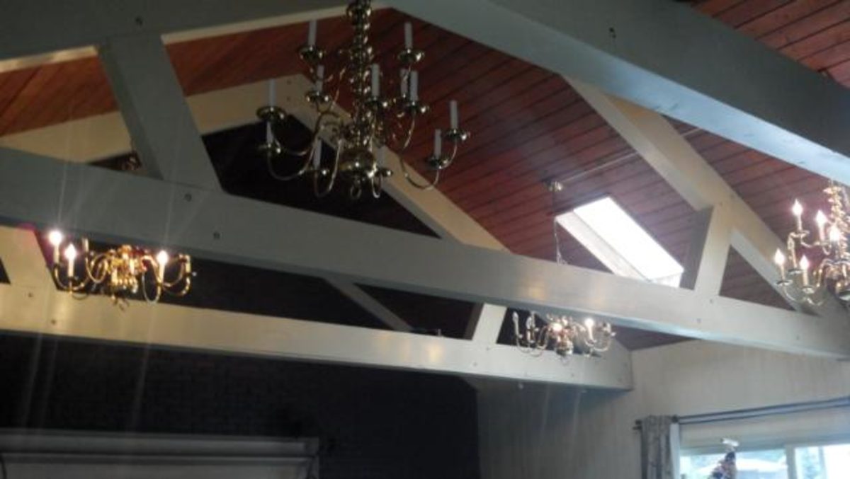 Cooling a room with a vaulted ceiling can be difficult.