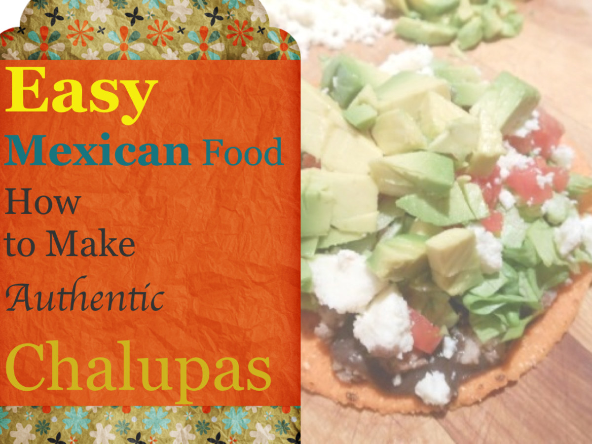 Mexican Food: So easy! Authentic Chalupas or Tostadas