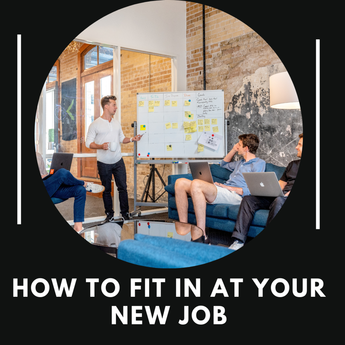 These tips on how to ease into a new job and get to know your new co-workers will help set you up for success!
