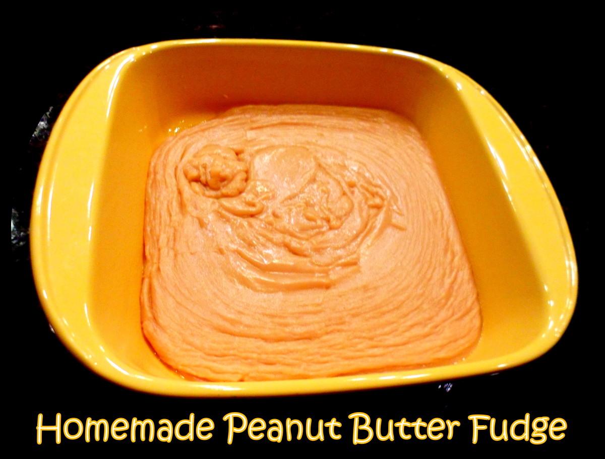 Old-Fashioned Peanut Butter Fudge Recipe