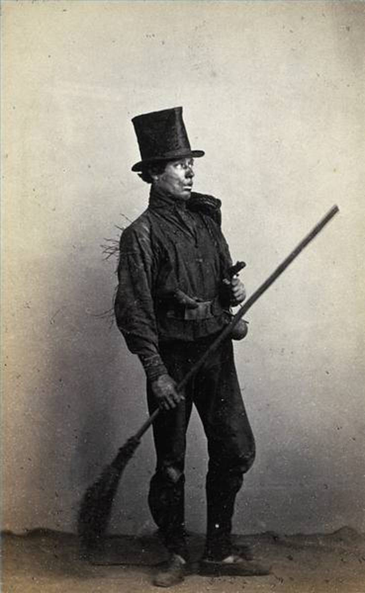 The Poor Life of An Apprentice Chimney Sweep - The History of Children at Work