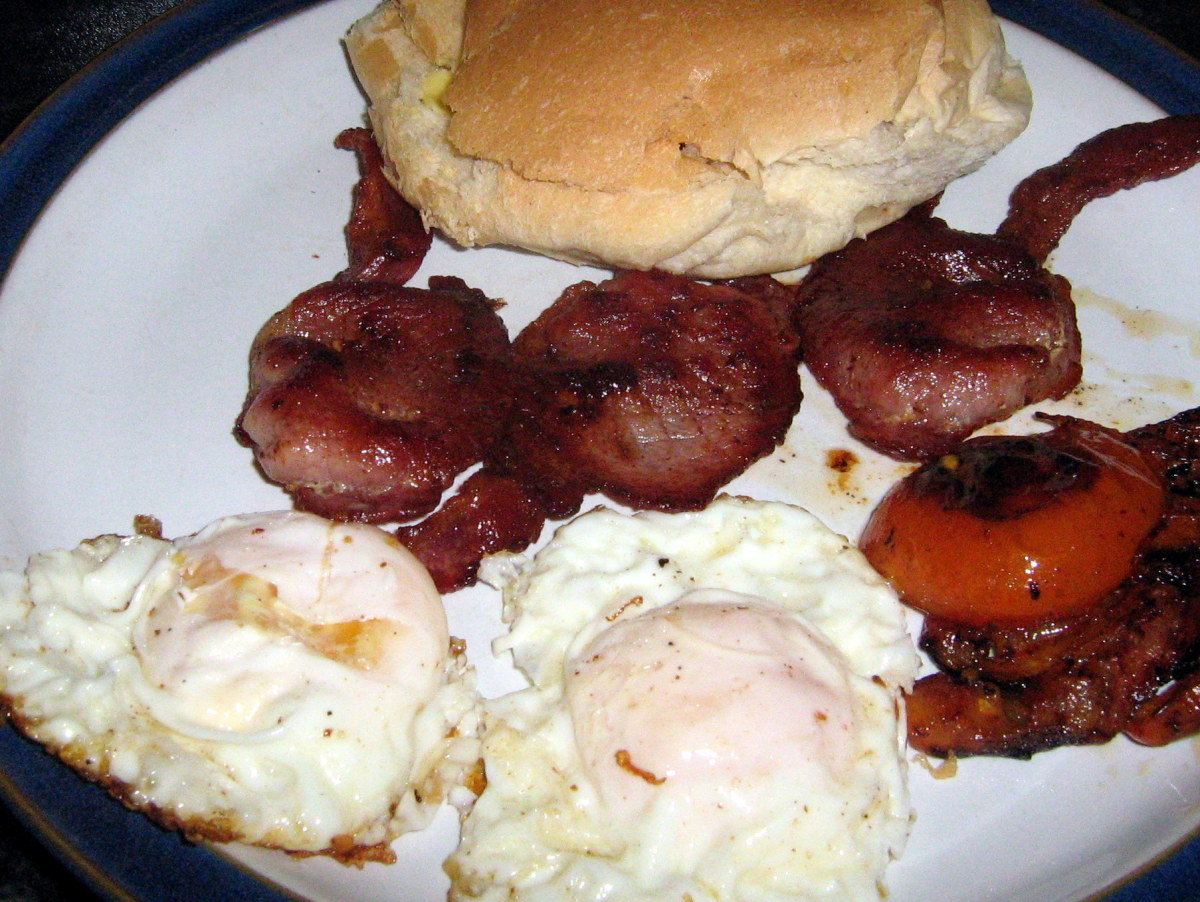 Irish Breakfast Sandwich Fry-Up
