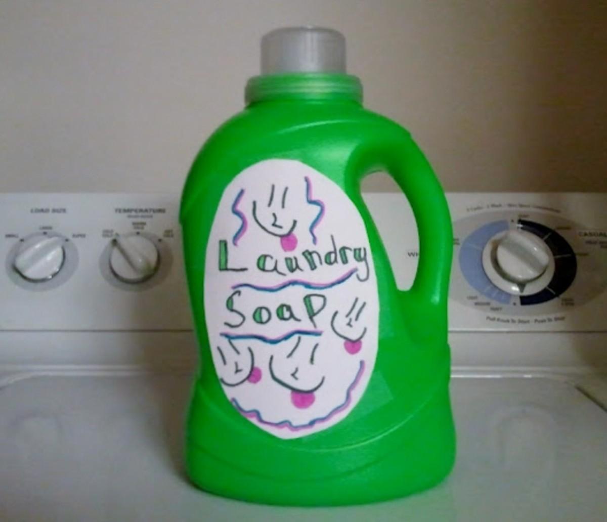 Easy Homemade Laundry Detergent Recipe