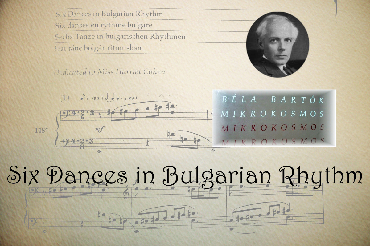 Six Dances in Bulgarian Rhythm by Béla Bartók