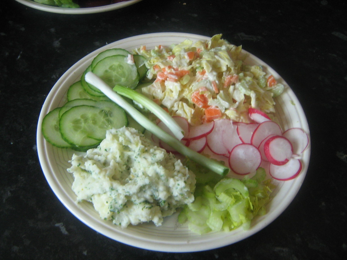 Recipe for Creamy Potato Salad With Mayonnaise