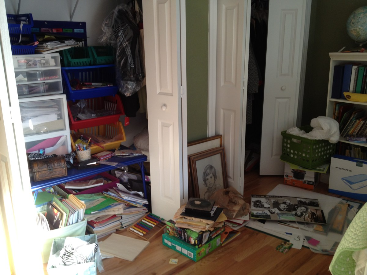 Do you have a problem with too much clutter?