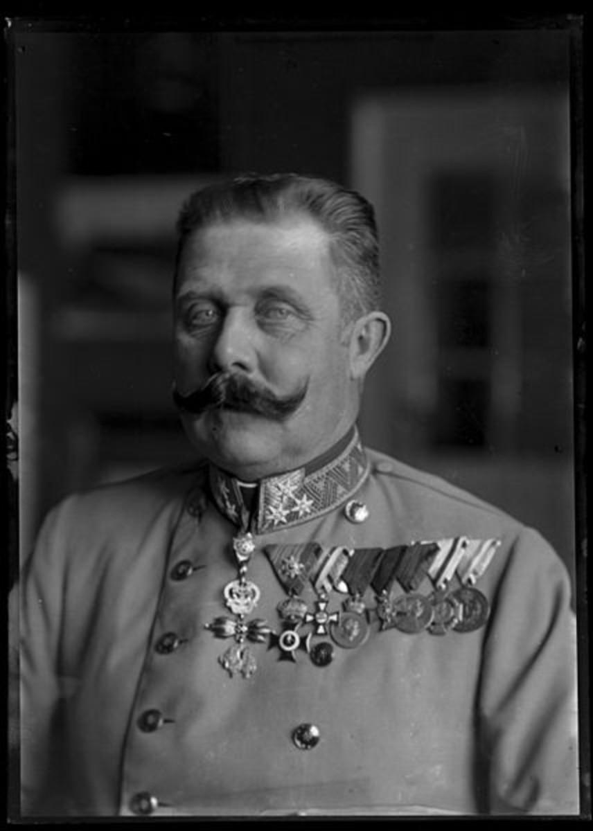 WW1. Archduke Franz Ferdinand. Circa 1914.