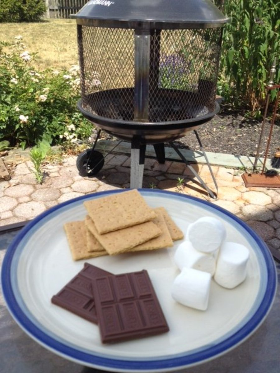 S'mores and campfires were made for each other!