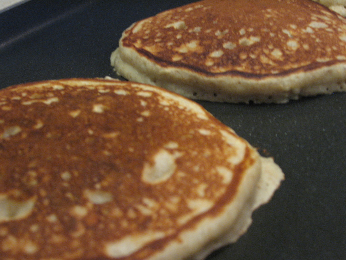 Amazing, Healthy Whole Wheat Banana Pancake Recipe