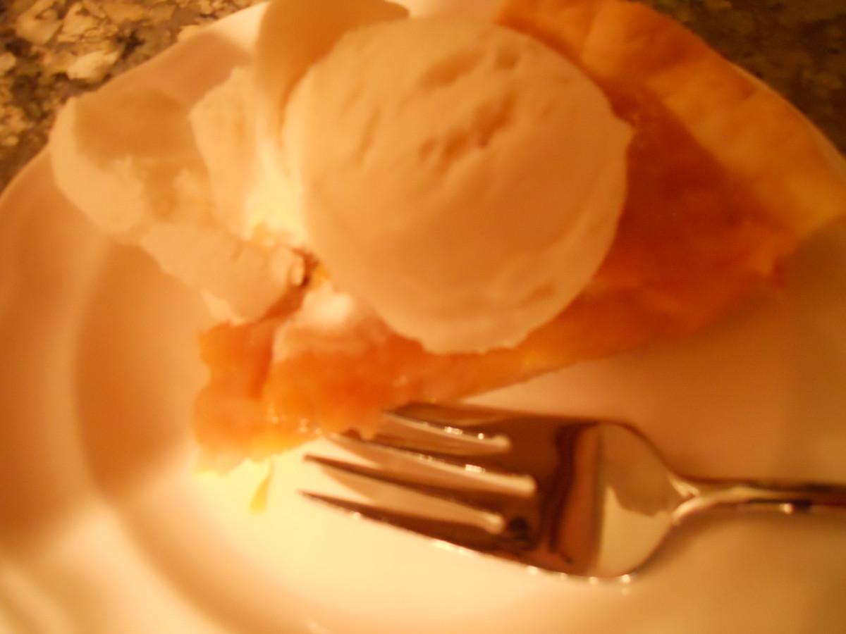 Simple One-Crust Peach Pie Recipe